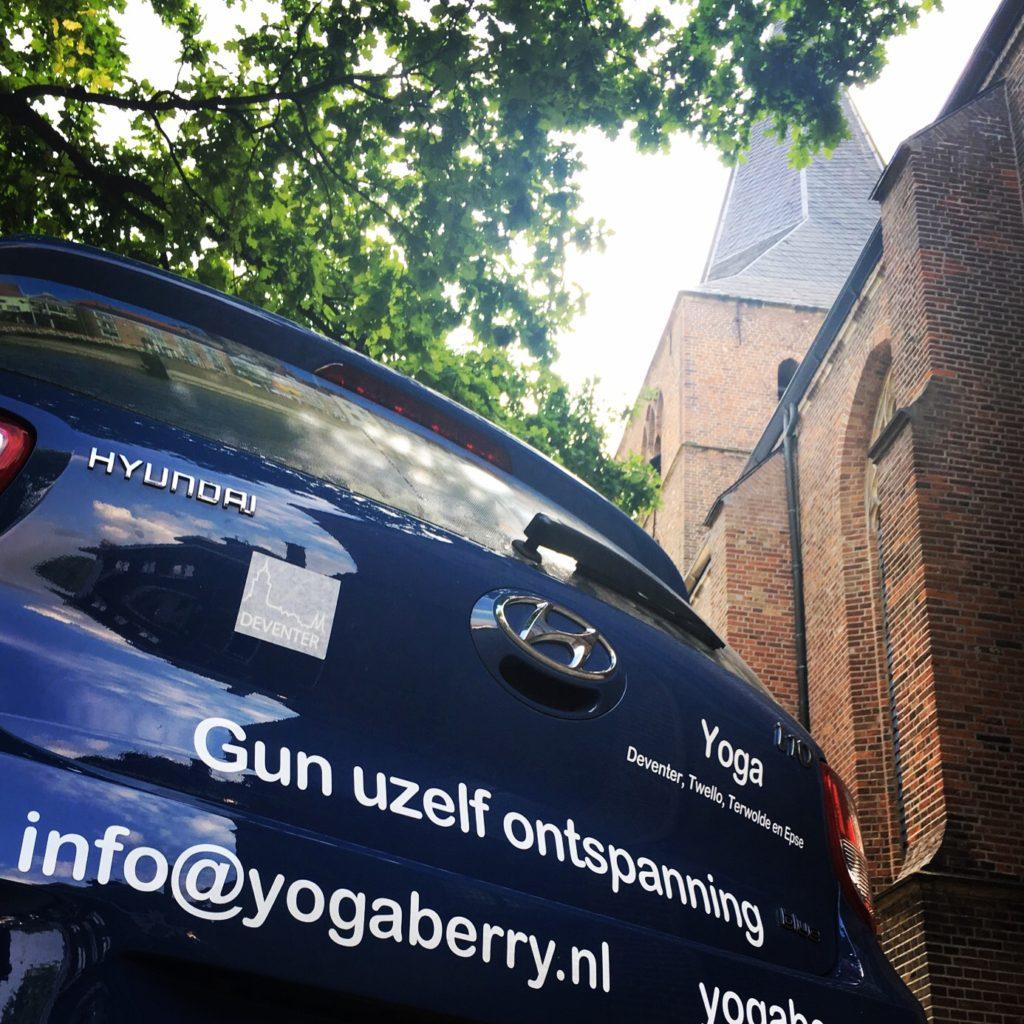 Yoga in Twello Voorst op dinsdag om 19.45 en om 21.00 uur