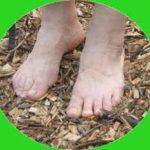 blote voeten en yoga