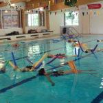 water yoga Deventer, dubbel ontspannen