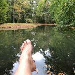 voeten yoga vakantie