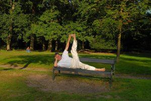 liggende yoga oefeningen