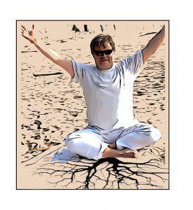 Burn-out en yoga, ga eens goed aarden