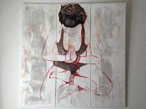 Maryam Bashari Rad, schilderijen en yoga