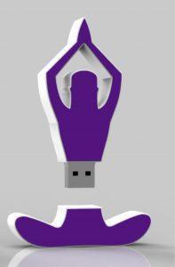 asana yoga op usb stick