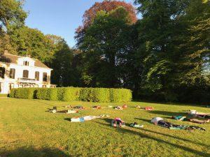 zomer yoga in Deventer en omgeving