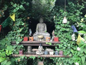 Levenstuinen yoga in de tuinen van Groot Honschoten