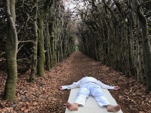 slaap yoga, slapen kun je overal