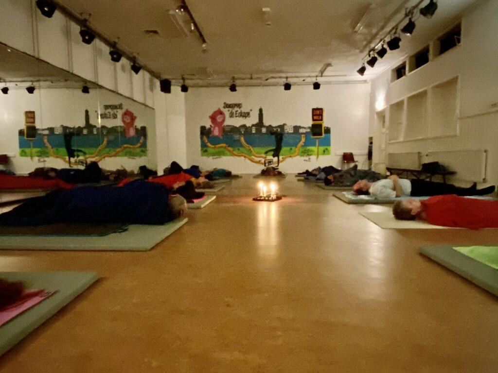 yoga de worp