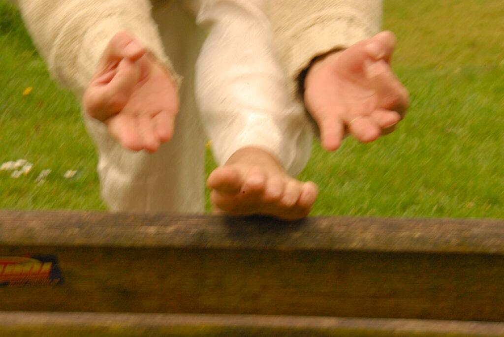 Yoga voor blinde en visueel gehandicapten