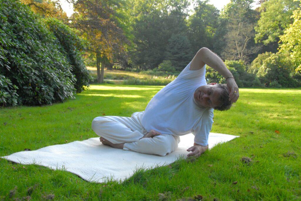 Liefde yoga en valentijnsdag